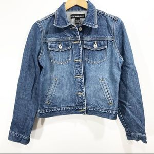 Express women's denim jacket Size M